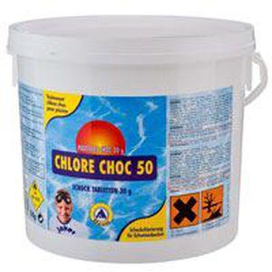 TRAITEMENT DE L'EAU  Chlore Choc pastilles 3kg
