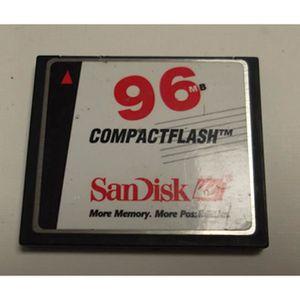 CARTE MÉMOIRE SanDisk 96 MB CompactFlash Card