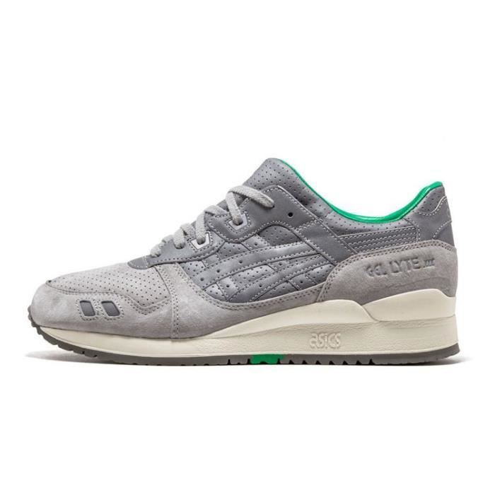 Basses Asics Gris Baskets Gel Femme 3 Lyte Chaussures Iii Sneakers 1YwqxFvw