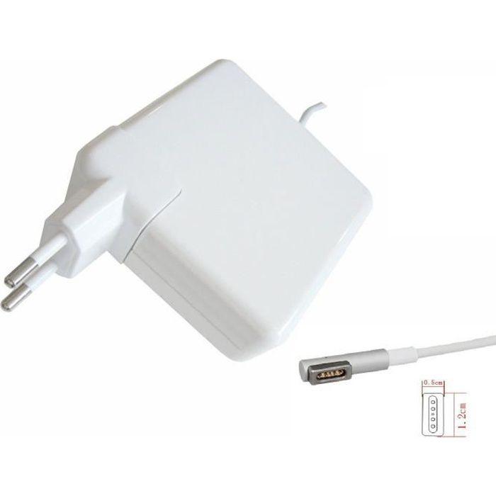 CHARGEUR - ADAPTATEUR  Chargeur 60 Watt compatible Magsafe pour Macbook