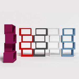biblioth que design meta violette violet achat vente meuble tag re biblioth que design meta. Black Bedroom Furniture Sets. Home Design Ideas