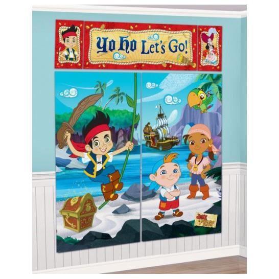 Decoration jake le pirate achat vente pas cher - Jake et les pirates ...