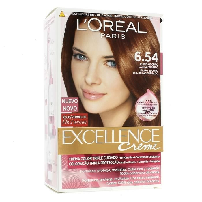L Oreal Coloration Excellence Cr 232 Me 6 54 Cuivr 233 E Blond