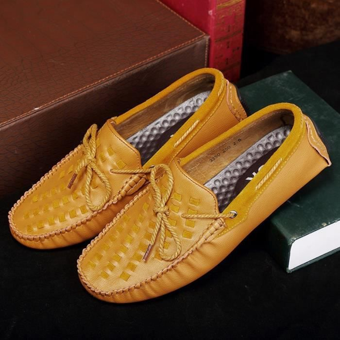 Chaussures Hommes Low Mocassins Hommes Top conduite Low 5Ixv7aqB