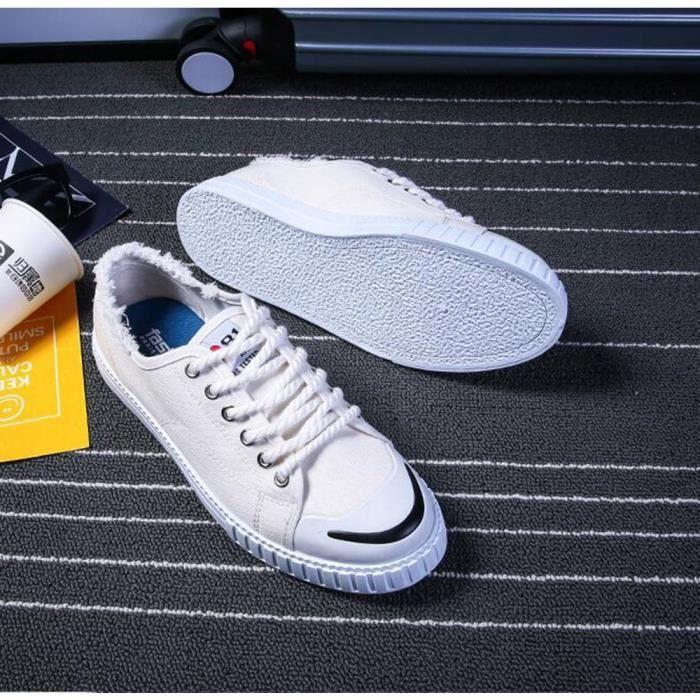 Chaussures de toile Hommes Sneaker Brand Extravagant Chaussures DéContractéEs Nouvelle Arrivee Chaussure Homme Plus Taille WPYaCdMD