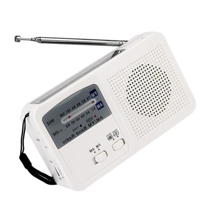 Radio Solaire D'urgence Utile De Mode Usb Rechargeable Fm - Am Avec Lampe Poche