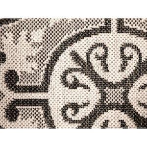 tapis effet carreaux de ciment achat vente tapis effet carreaux de ciment pas cher soldes. Black Bedroom Furniture Sets. Home Design Ideas