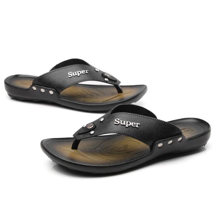 Vente! HuskSware® Été 2016 hommes pu sandales s...