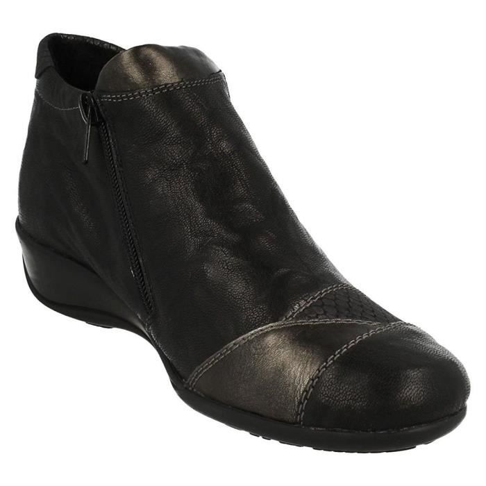 bottines / low boots r9883 femme remonte r9883