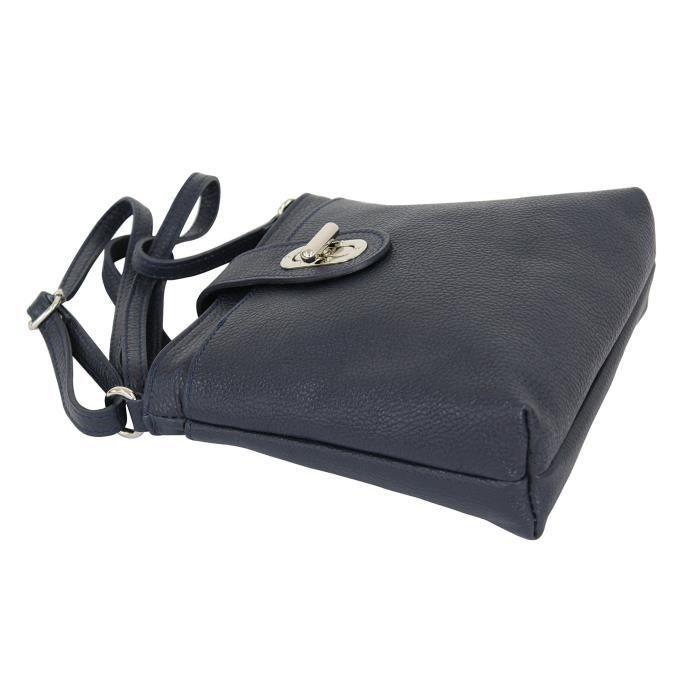 Croix en cuir véritable de Gl007 Fille - femmes du corps sac à main Satchel1D30ZK