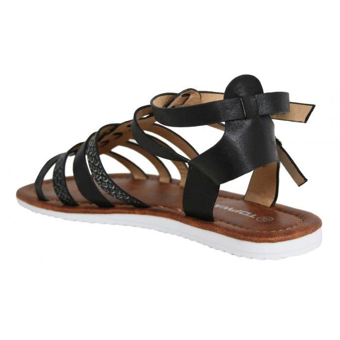 Sandales pour Fille URBAN B715300-B7200 BLACK