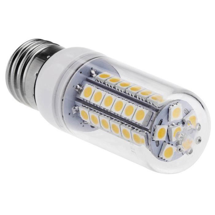 Smd 360 E27 D'energie Degres Maïs Led Ampoule 220 5050 240v 48 D'eclairage Blanc Lampe De Economie Lumiere 7w ngwfxY