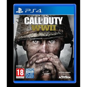 JEU PS4 Call of Duty WWII