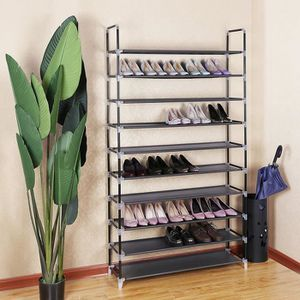 MEUBLE À CHAUSSURES XL Étagère à Chaussures avec 10 Niveaux de Rangeme