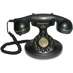telephone fixe sans fil retro achat vente pas cher. Black Bedroom Furniture Sets. Home Design Ideas