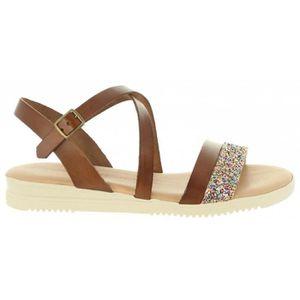 de135a5951d51f Cumbia 20579 Marrón - Chaussures Sandale Femme GH8HUA1Z -  lesincorruptibles.fr