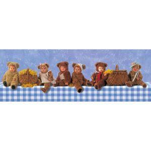 PUZZLE Puzzle 1000 pièces Anne Geddes : Picnic des Ourson