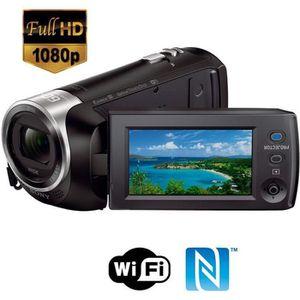 CAMÉSCOPE NUMÉRIQUE SONY HDR-PJ410 Caméscope Full HD avec projecteur
