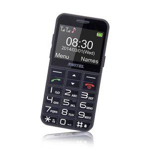 Téléphone portable Téléphone mobile M190 SWITEL Quad-bande - Simple +