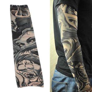 KIT TATOUAGE TEMPSA 6 Pcs Faux bras manchons tatouages en nylon