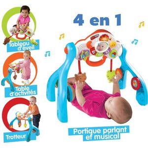 PORTIQUE BÉBÉ VTECH BABY Centre d'éveil 4 en 1 P'tits Copains