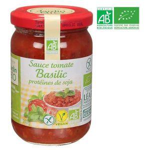 SAUCE CHAUDE Sauce Bolognaise Basilic Soja Bio 200g