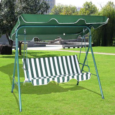 3 Balançoire Balancelle Banc Longue Jardin Chaise Places Yfb7y6g