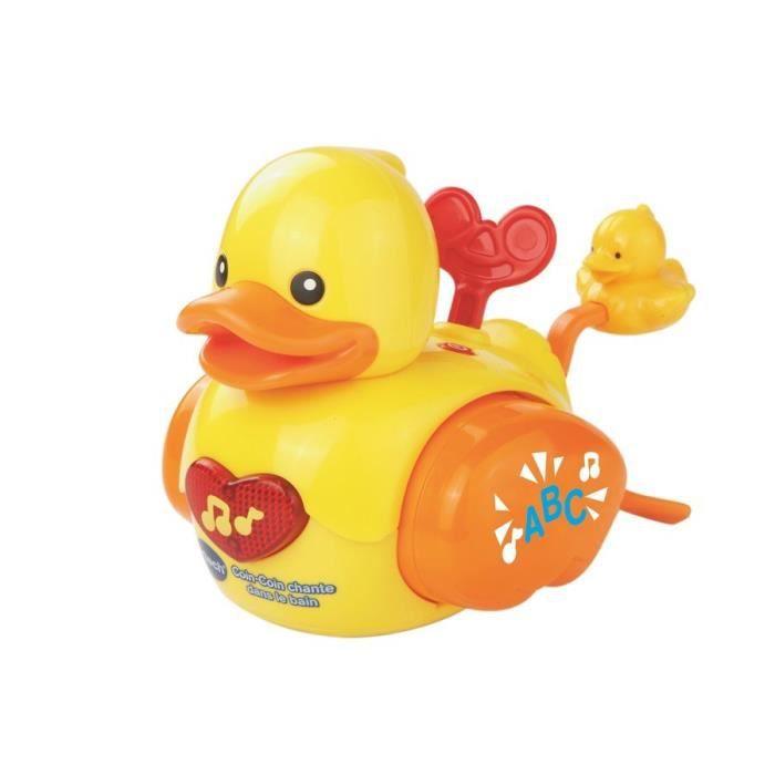 VTECH BABY - Jouet de Bain - Coin-coin chante dans le bain