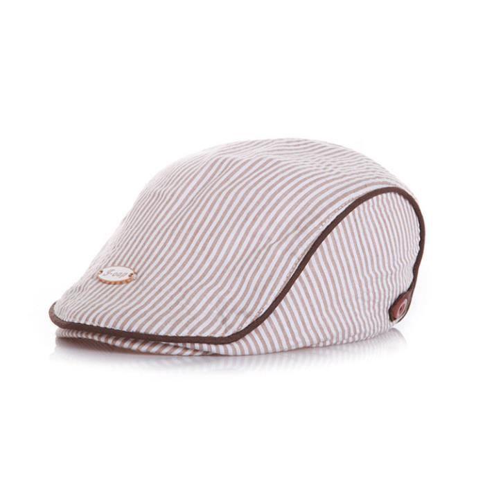 Les enfants de bébé garçon béret chapeau de soleil (café) - Achat ... ea3c6d44774