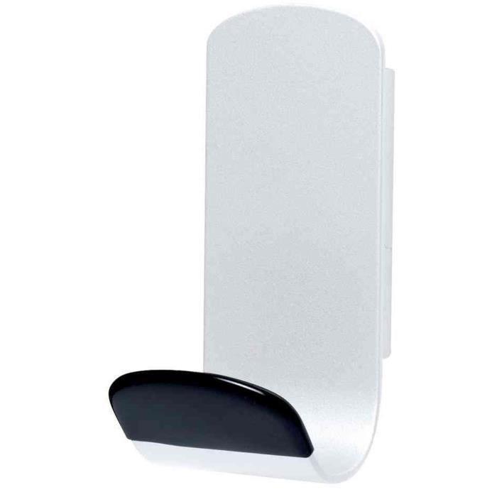 patère magnétique steely 381 capacité 12 kg blanc - achat / vente