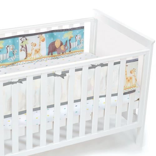 tour de lit bébé respirant Tour de lit respirant Jungle   Spécial lit tête   Achat / Vente  tour de lit bébé respirant