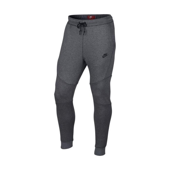 nike pantalon de jogging tch flc homme gris gris gris achat vente pantalon de sport. Black Bedroom Furniture Sets. Home Design Ideas