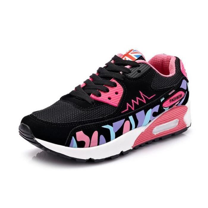 Chaussures femme de sport Confortable De Marque De Luxe Sneaker Grande Taille Nouvelle Mode 2017 ete Baskets femmes Antidérapant