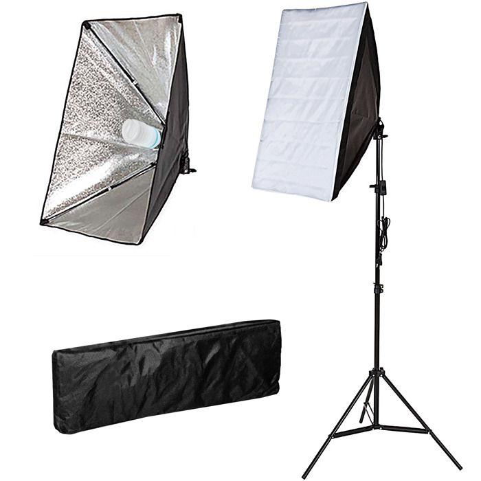 clairage studio photo 1 lampe boite lumi re 40w achat. Black Bedroom Furniture Sets. Home Design Ideas