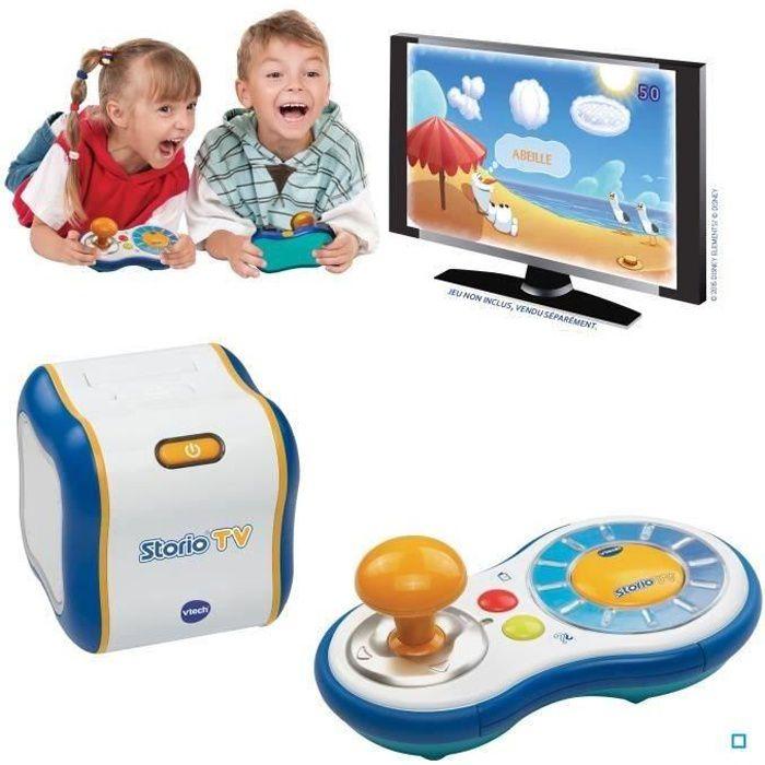vtech console enfant storio tv achat vente console ducative cdiscount. Black Bedroom Furniture Sets. Home Design Ideas