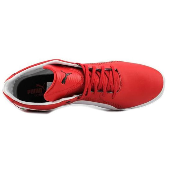 Puma Selezione SF NM2 Hommes Toile Baskets Rouge Rouge