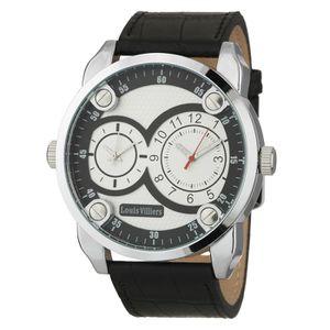 MONTRE LOUIS VILLIERS Montre Quartz AG373606 Bracelet Cui