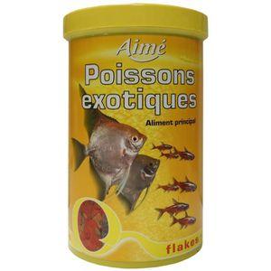 FLOCONS - MASH - MUESLI AIME Aliment principal en flocons - Pour poissons