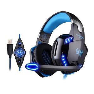 CASQUE - ÉCOUTEURS KOTION EACH G2200 Gaming Casque Gamer Headset Gami