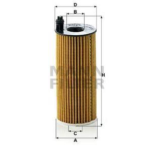 FILTRE A HUILE MANN FILTER Filtre à huile HU6004X