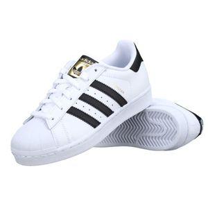 BASKET Basket Adidas Superstar J C77154 Blanc - Noir