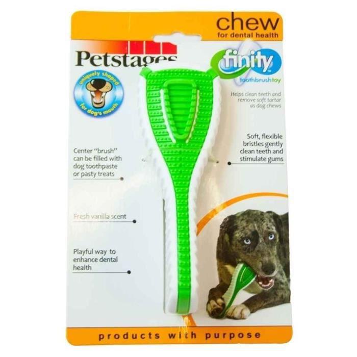 Petstages - Jouet Brosse À Dents Finity Dental Chew Pour Chiens L