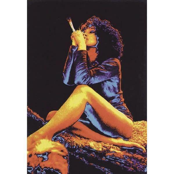 poster joint un femme en train de fumer achat vente affiche poster cdiscount. Black Bedroom Furniture Sets. Home Design Ideas