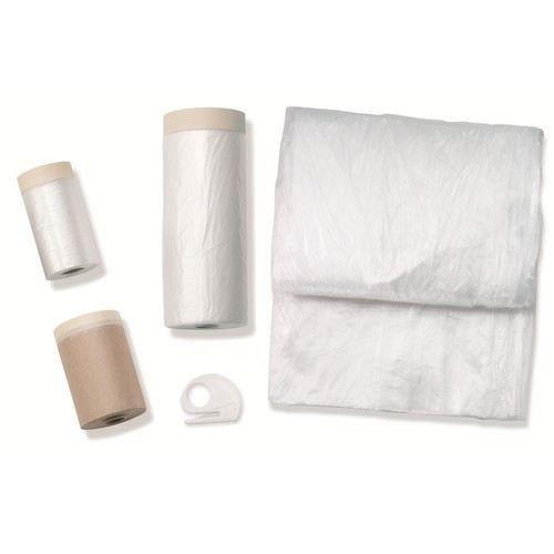 Housse Protection Plastique 20m X 55cm Rouleau Adhesif Achat