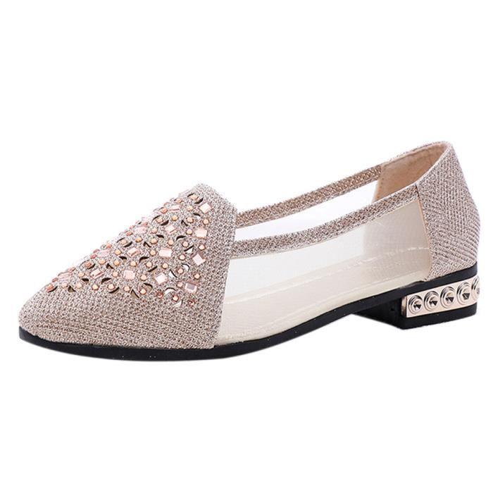 Chaussures décontractées pour dames : Prix moins cher Femme
