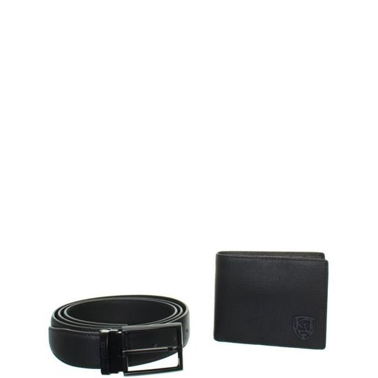 2df883fe58 Coffret Ceinture et Portefeuille Redskins en cuir ref_42206-noir Noir -  Achat / Vente ceinture et boucle 3568484105606 - Cdiscount