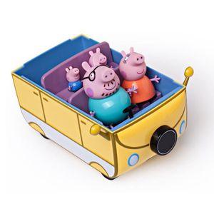 camping car peppa pig achat vente jeux et jouets pas chers. Black Bedroom Furniture Sets. Home Design Ideas