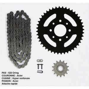 Kit chaîne pour Yamaha Xj Diversion 600 de 91-02
