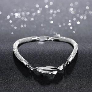 BRACELET - GOURMETTE Bracelets artisanal Bijoux Fantaisie Plaqué argent