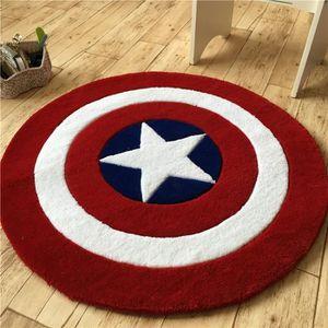TABLEAU ENFANT Captain America shield cartoon acrylique tablette